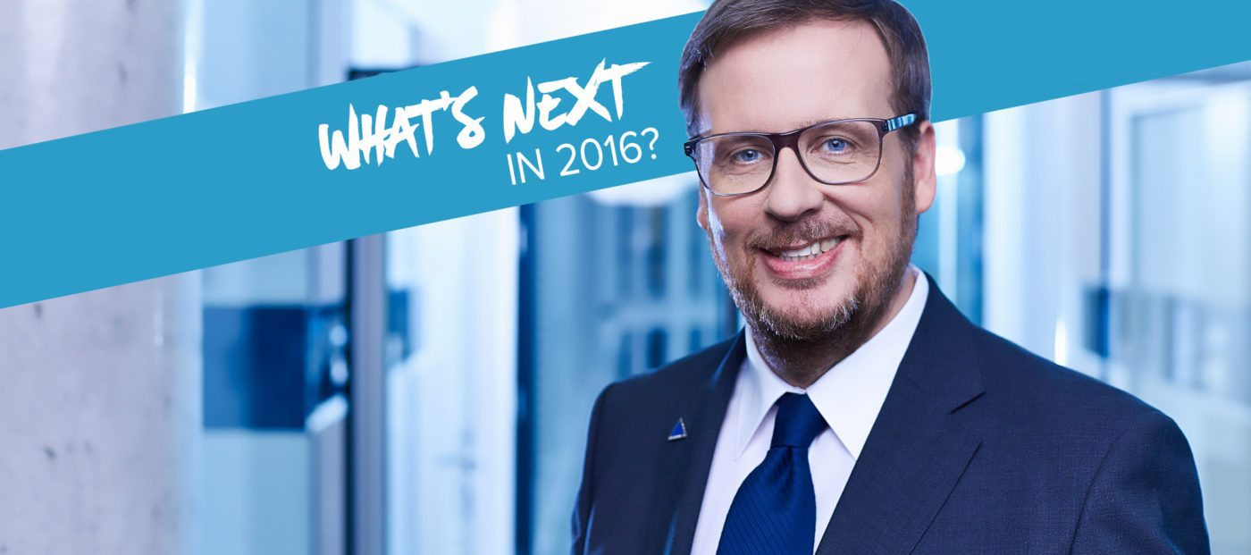 Roland Kampmeyer on what's next in 2016