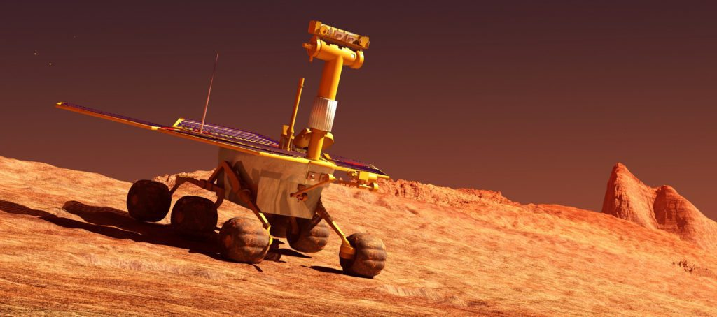 real estate on Mars
