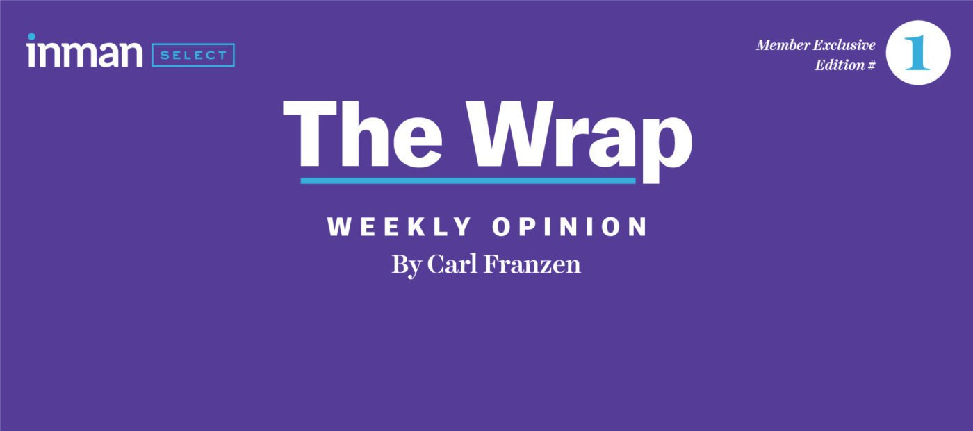 New for Inman Select subscribers: Say hello to 'The Wrap'