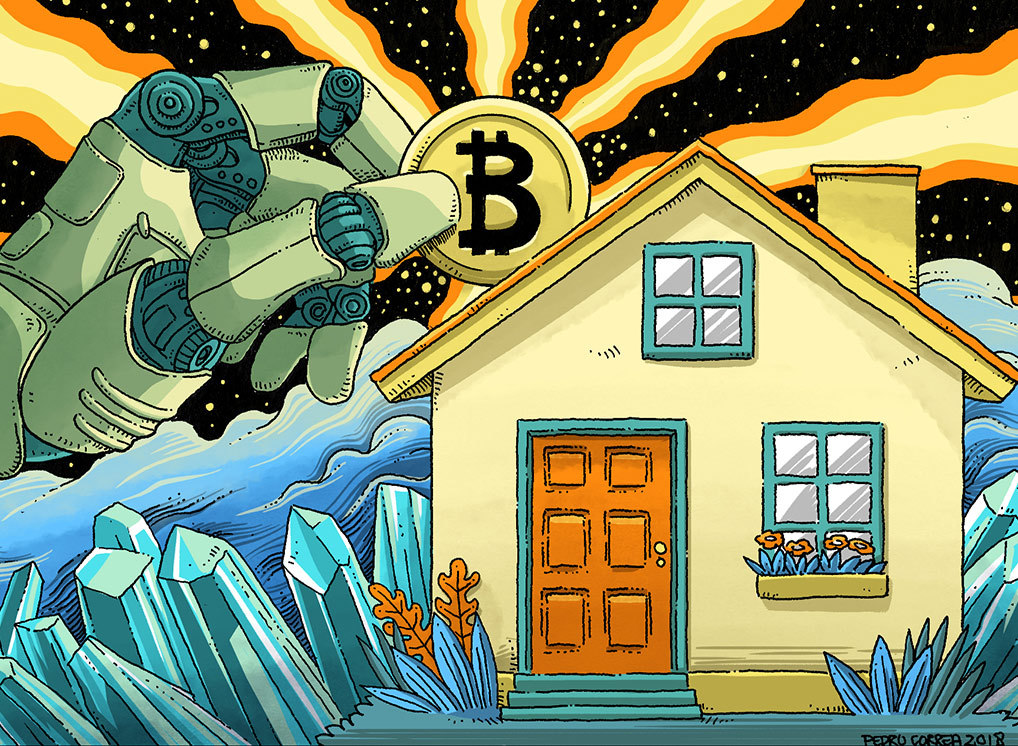 Blockchain, cryptocurrency and real estate