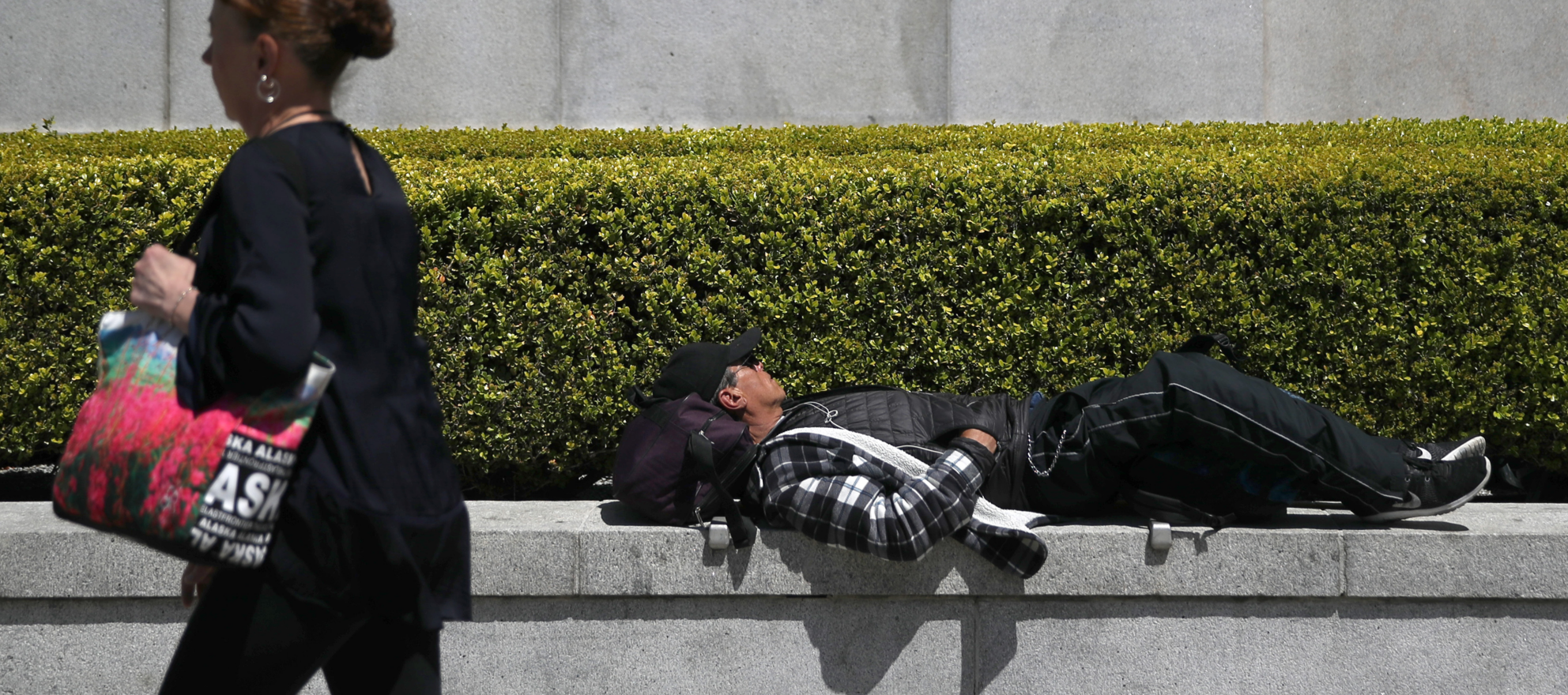 San Francisco at center of battle over 'anti-homeless architecture'